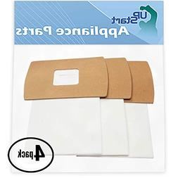 12 Replacement Oreck BB870AD Vacuum Bags - Compatible Oreck