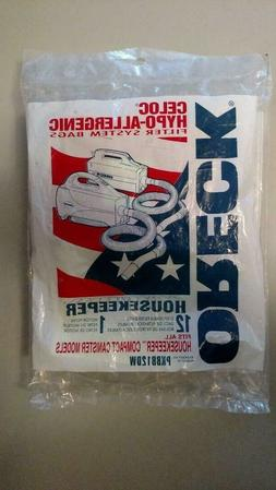 12 GENUINE Oreck Xl Buster Canister Bags B Vacuum PKBB12DW 1