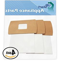UpStart Battery 12 Replacement Oreck BB870AW Vacuum Bags - C