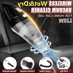 120W Wireless Car Vacuum Cleaner Dust Busters Strong Suction