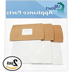 UpStart Battery 6 Replacement Oreck BB-870-AW Vacuum Bags -