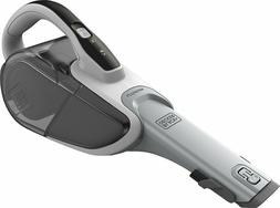 Black & Decker - Bagless Cordless Hand Vac - White/Black Fre