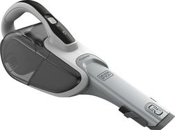 BLACK & DECKER Lithium Hand Vacuum with PowerBoost - White H