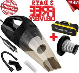 Car Vacuum Cleaner Wet Dry Handheld Dust Buster with Filter