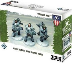 FFG Dust Tactics Heavy Ranger Tank Hunter Squad - Tank Buste