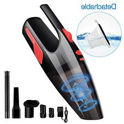 Elshop Handheld Vacuum Cordless 6KPA High Power Car Vacuum C