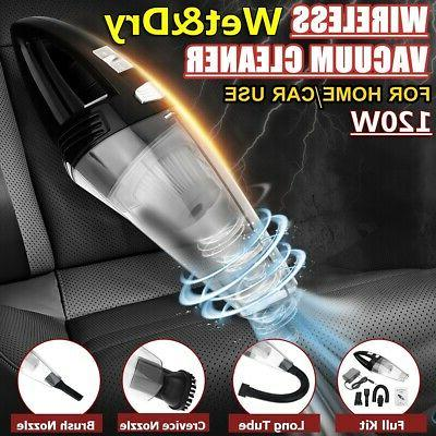 120w wireless car vacuum cleaner dust busters