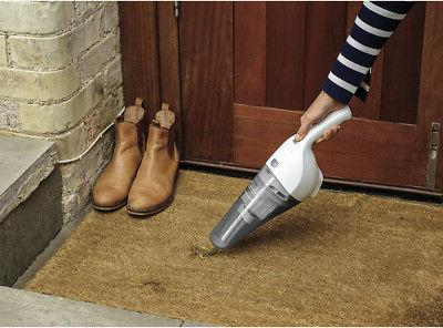 Black & Decker - Bagless Hand Vac - White