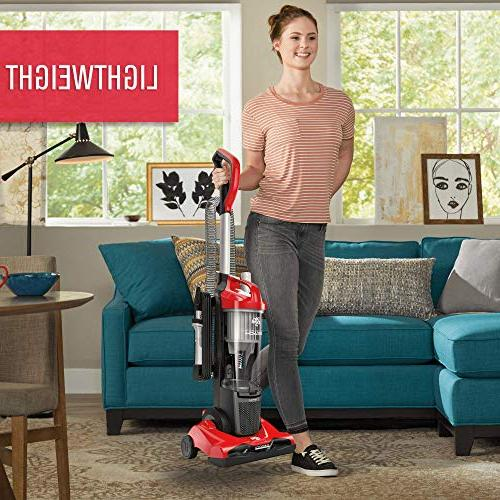 Dirt Devil Upright Vacuum with No of UD20124, Red