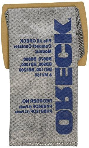 Genuine Odor Fighting Charcoal Filtrete Paper Bags - Pack - PKBB12OF