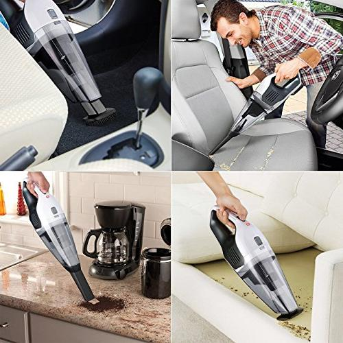 Hand Vacuum, Vac Car Cleaner Lightweight Vacuum Wet Home Pet Car Cleaning