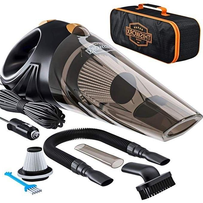 handheld dust buster car vacuum strong suction