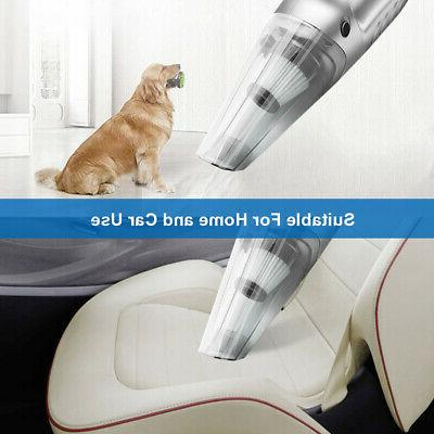 HEPA Car Vacuum Cleaner CORDLESS Rechargeable & Dry