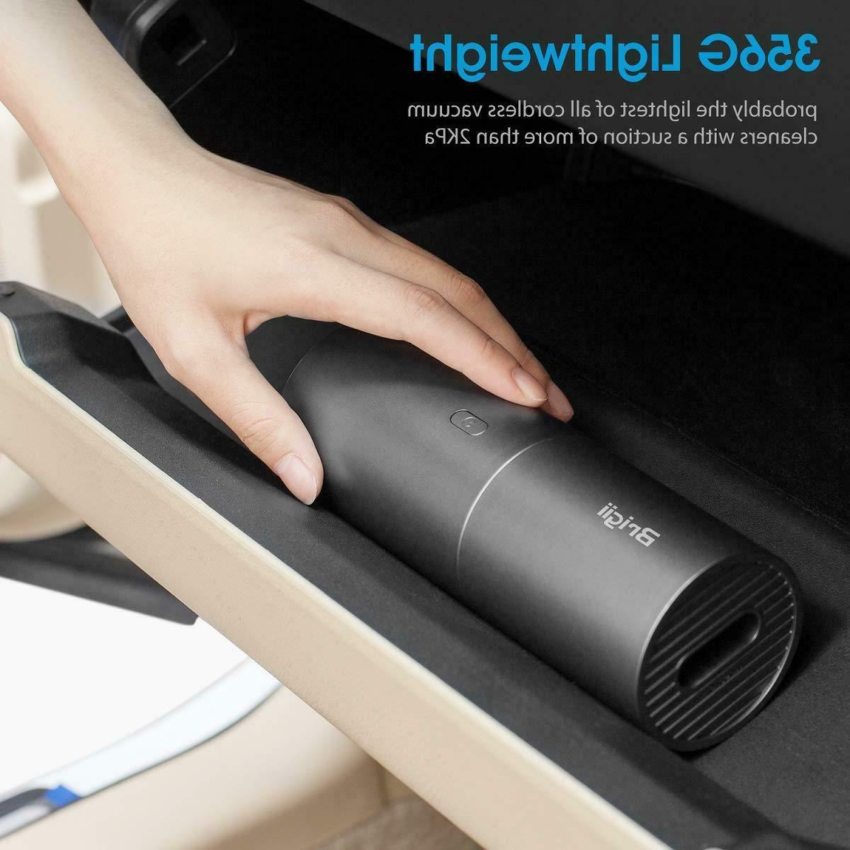 Mini Handheld Vacuum Cleaner   Cordless Rechargeable 2 in 1 Buster/Blower