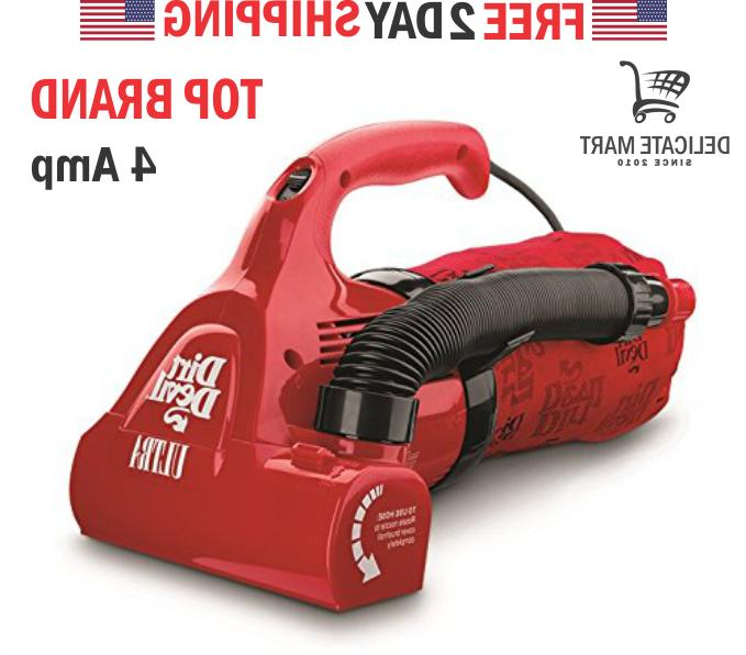 NEW Dirt Devil Ultra Power Handheld Corded Bagged Hand Vacuu