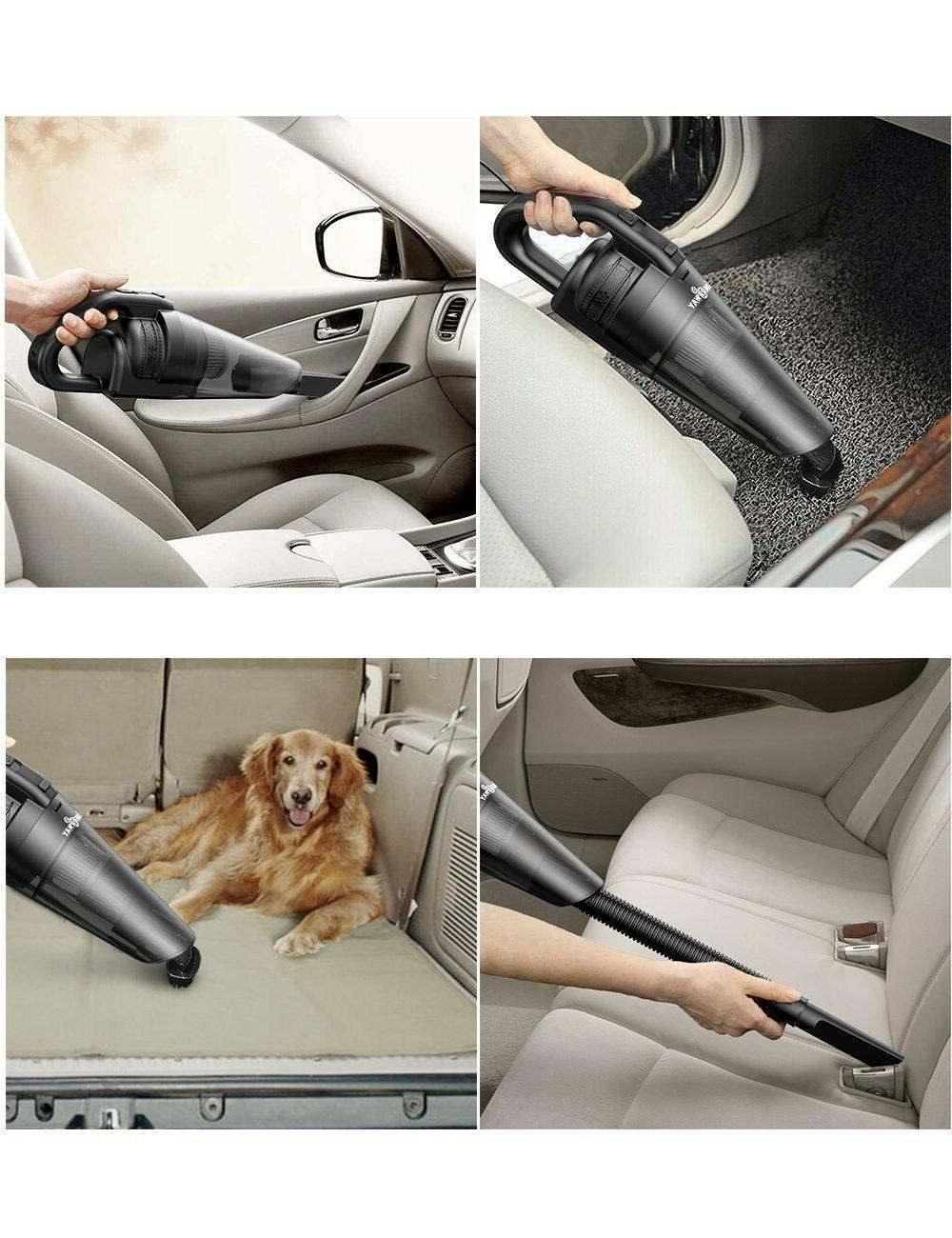 Rechargeable Lightweight Dust for Home Car Pet Hair W