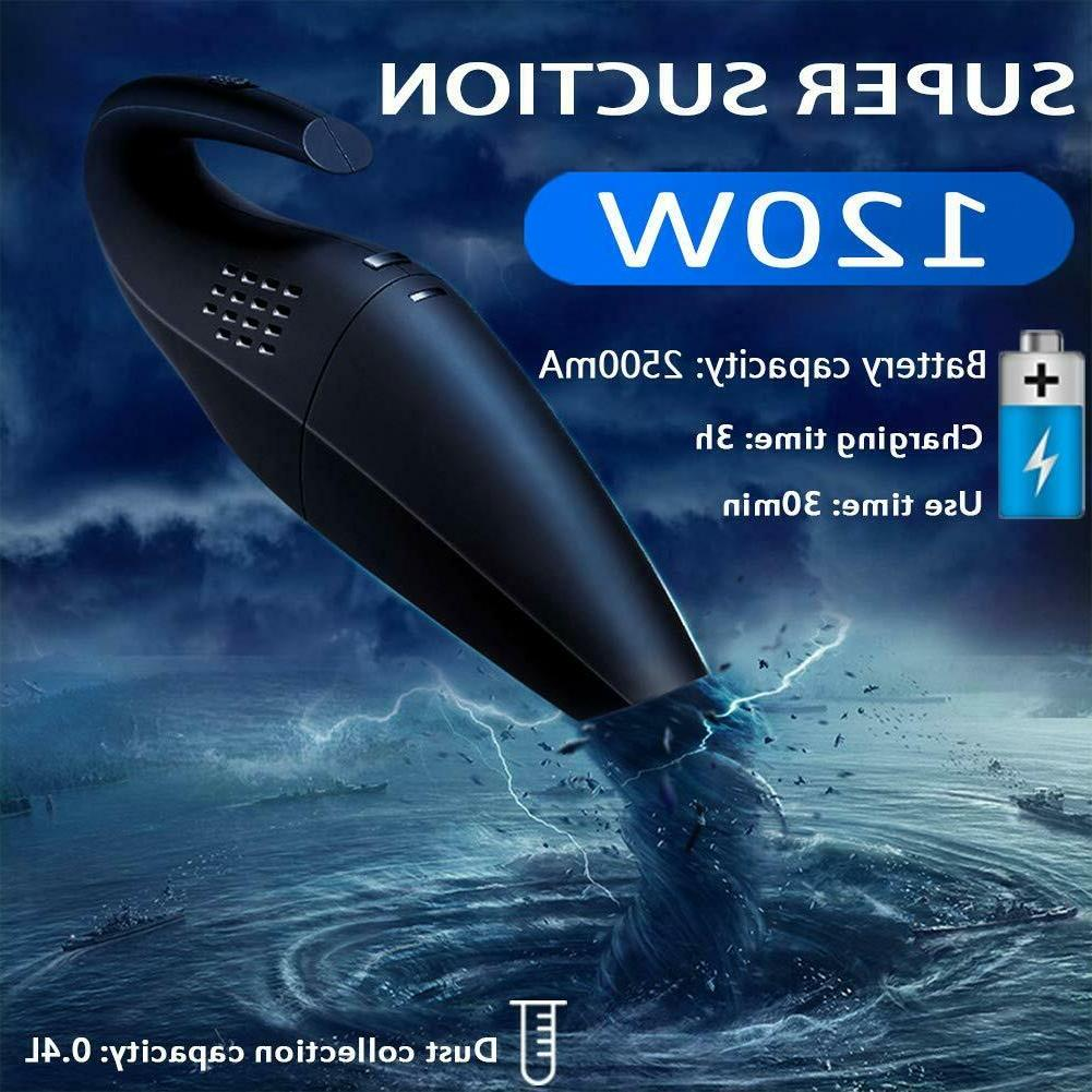 Wireless Vacuum Cleaner Rechargeable Car Cleaning