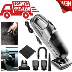 New 120W Car Vacuum Cleaner Wet Dry Handheld Strong Dust Bus