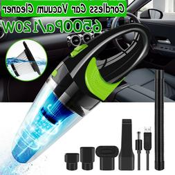 Portable Car - Handheld Cordless Dust Buster Lower Noise Vac