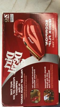 Dirt Devil SD20005 - Red - Handheld Cleaner, vehicle vacuum