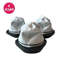 Shark Dust Cup Filter 3 Pk  Fits Cordless Hand Vac Part # XS