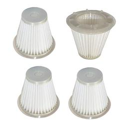 HQRP 4-Pack Washable & Reusable Filters for Black & Decker C